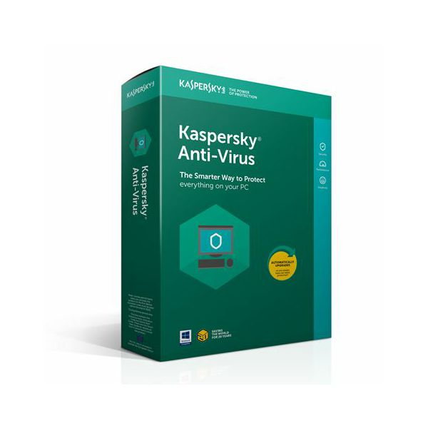 Kaspersky Anti-Virus 3D 1Y renewal  AV 3D 1Y renewal