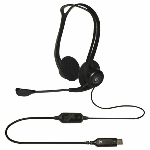 LOGITECH Corded USB Stereo Headset PC 960 - Business EMEA