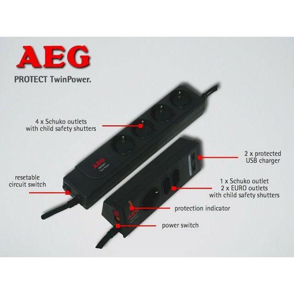 AEG Protect TwinPower  600 000 7749