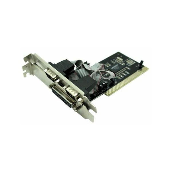 Asonic PCI 2x ser. (RS232), 1x paralel port