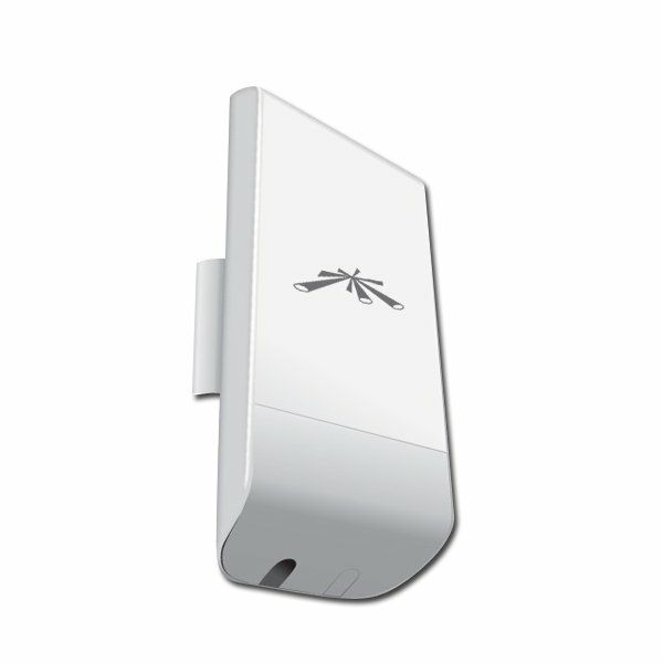 Ubiquiti NanoStation LocoM2, 2.4 GHZ, 8 dBi, 1 x 10/100 Ethernet Port, Power method - Passive Power over Ethernet , Outdoor UV Stabilized Plastic, Processor Atheros MIPS 24KC 400 MHz, 32 MB SDRAM, 8 M